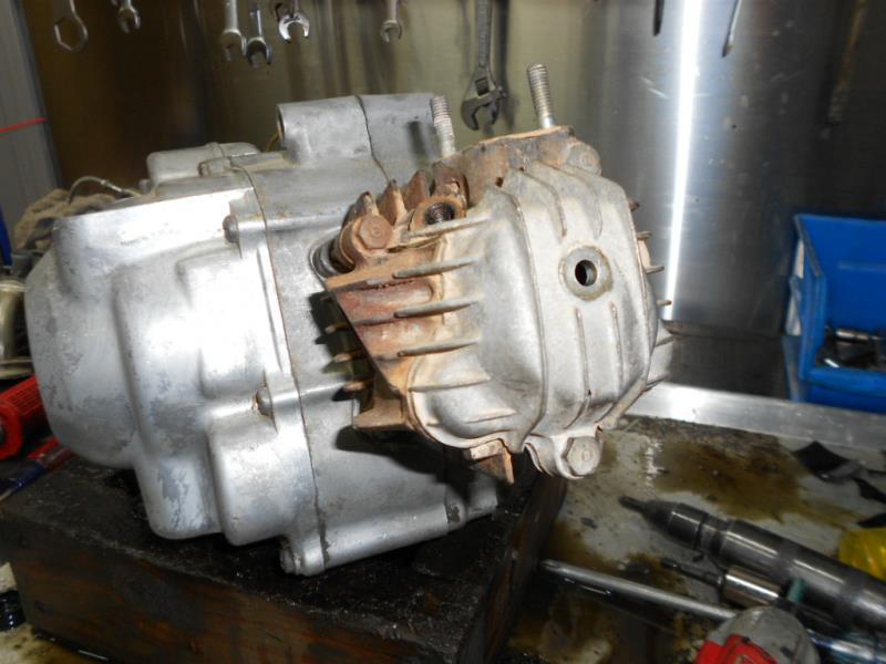 QA50 Engine Rebuild