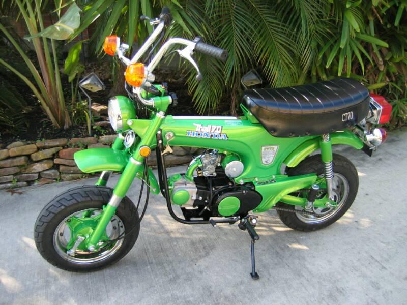 Honda mini trail 70 for sale craigslist