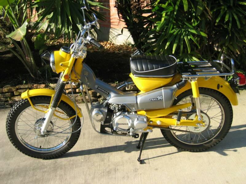 honda ct trail bikes