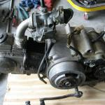 Original Engine as we recieved it, before Restoration